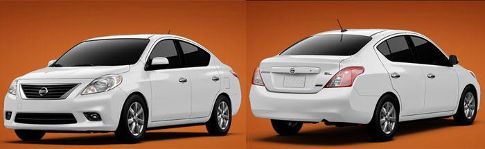 Фото 1. Образ нового Ниссан Верса 2012 (Nissan Versa Sedan 2012) внушает доверие. С виду и не скажешь, что этот автомобиль может стоить всего $10990. Фото: Autogurnal.