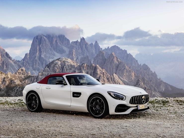 Mercedes-Benz AMG GT родстер