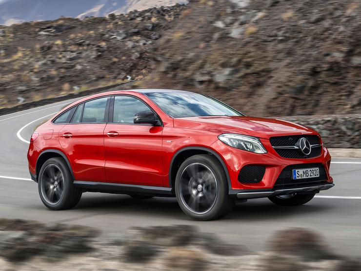 Mercedes-Benz GLE купе