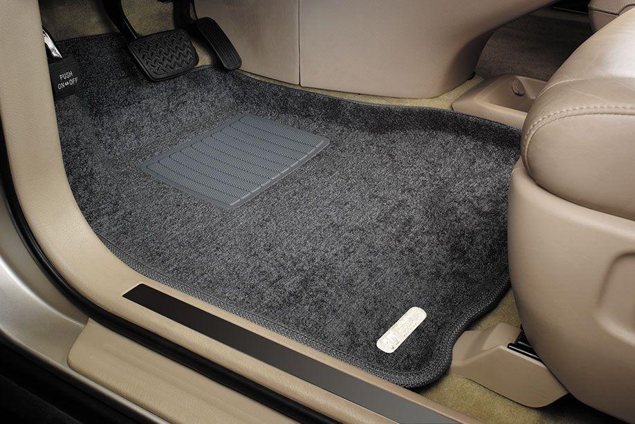 Почему лучше выбирать текстильные коврики