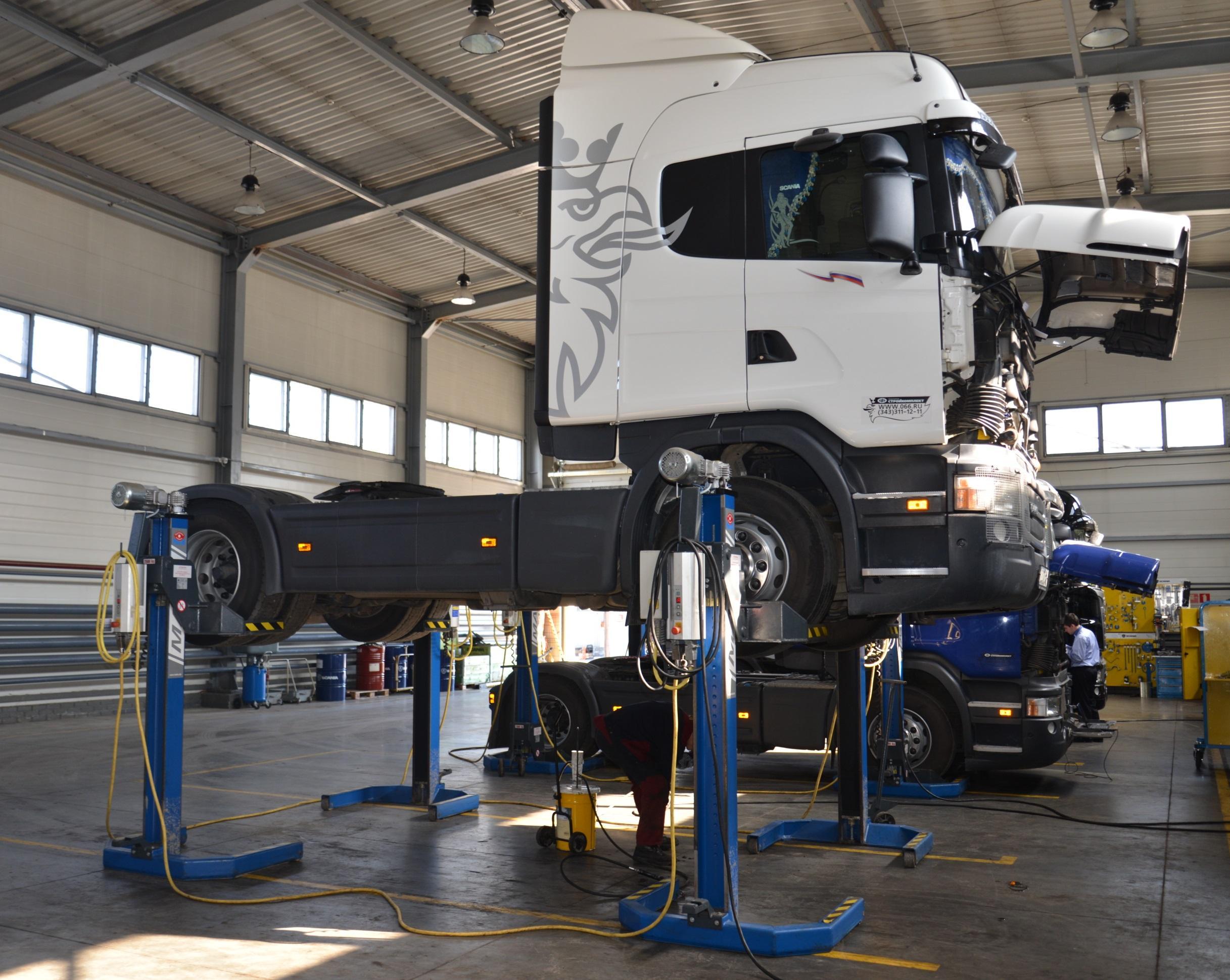 Как проводится диагностика грузовиков