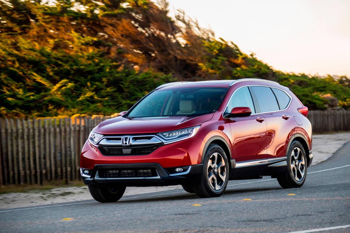Honda CR-V — полноприводной спортивный внедорожник