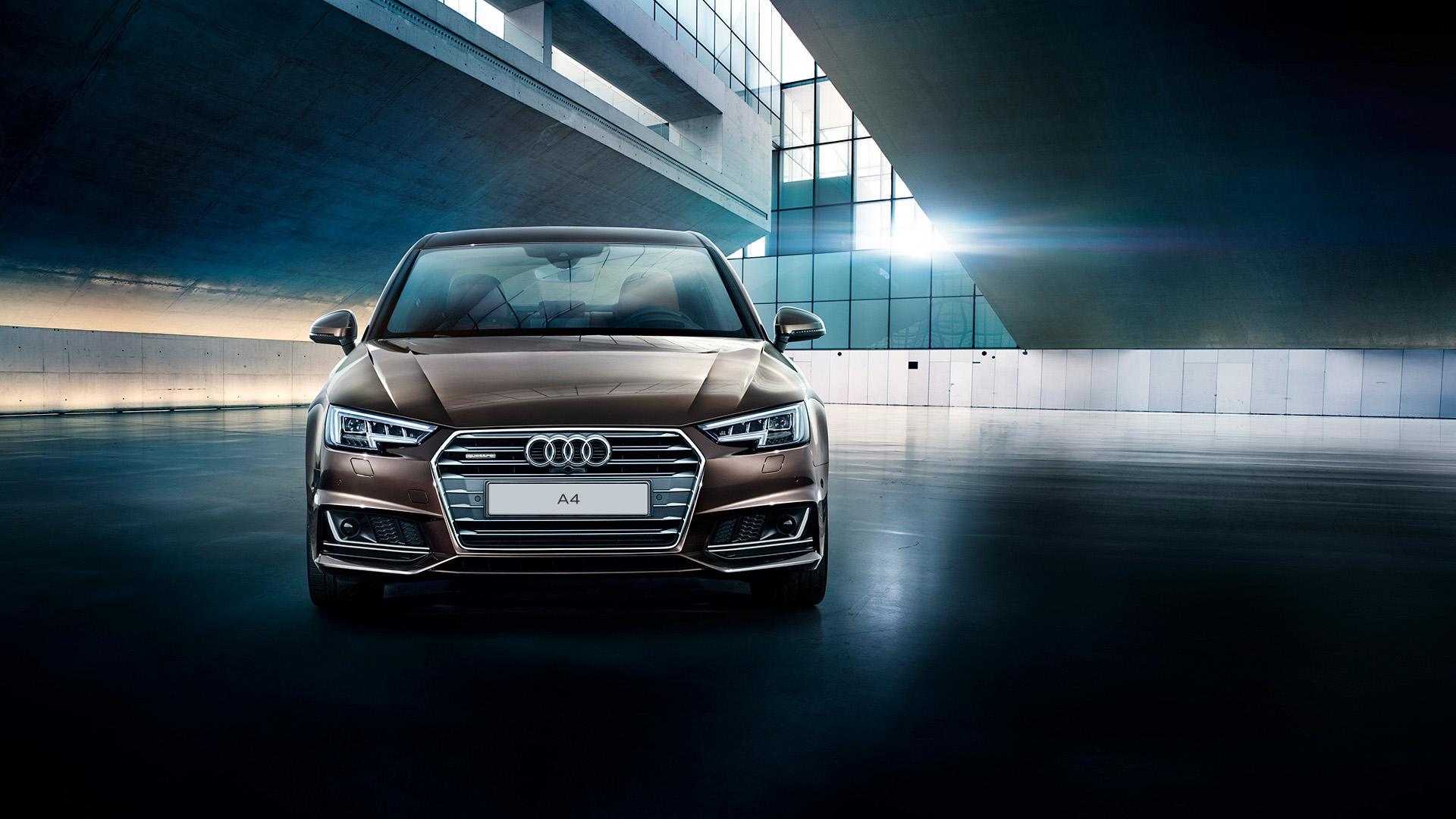 Обзор автомобиля Audi A4